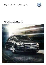 Příslušenství pro Phaeton. - Volkswagen
