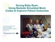 Saving Baby Ryan Using Simulated Mock Codes to Improve ...