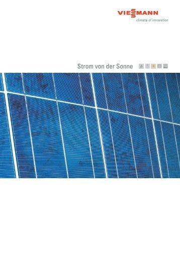 Strom von der Sonne - Viessmann