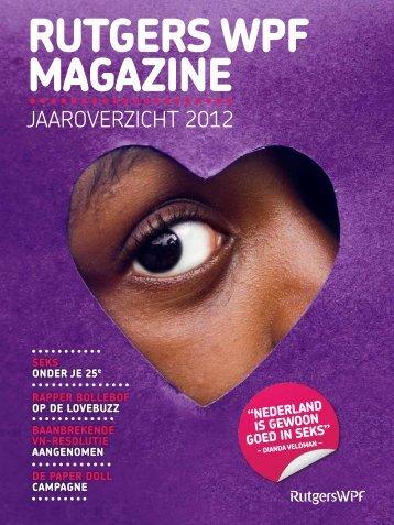 Rutgers WPF Magazine 2012