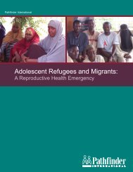 Adolescent Refugees and Migrants: - HIV/AIDS Clearinghouse