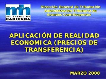 Aplicación de la realidad económica en Costa Rica
