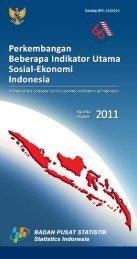 Edisi Agustus 2011 - Badan Pusat Statistik