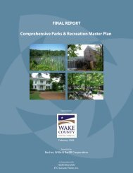 Comprehensive Parks & Recreation Master Plan FINAL REPORT