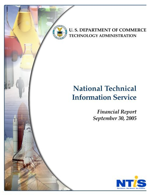 US Department of Commerce National Technical Information Service