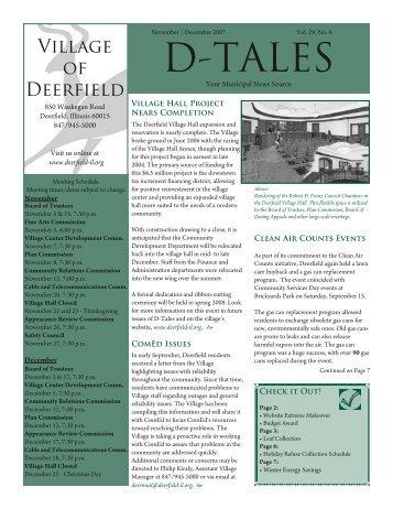 D-TALES - Deerfield
