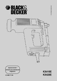 Slovenských - Black & Decker