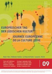 journée européenne de la culture juive ... - Jewish Heritage