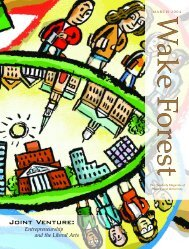 Wake Forest Magazine March 2004 - Past Issues - Wake Forest ...