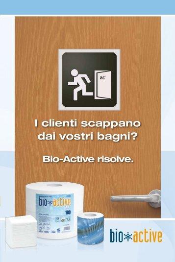 I clienti scappano dai vostri bagni? - Lucart Professional