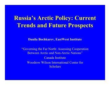 Bochkarev - Woodrow Wilson International Center for Scholars
