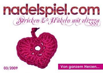 """Heft nadelspiel 03/2009 """"Herzen"""" ohne Videos"""