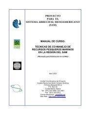 Manual de Capacitación sobre Técnicas de Comanejo de Recursos ...