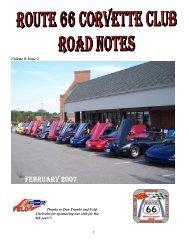 Volume 8, Issue 2 - Route 66 Corvette Club