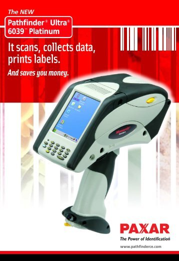 It scans, collects data, prints labels. - Gomaro