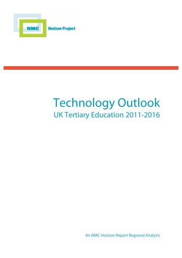 Technology Outlook in UK Tertiary Education - New Media Consortium