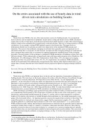 On the errors associated with the use of hourly data in wind- driven ...