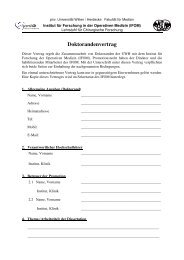 Doktorandenvertrag neu - Universität Witten/Herdecke