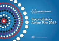 To view our 2013 Reconciliation Action Plan click here - Health ...