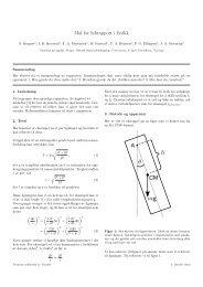 Mal for labrapport i fysikk - NTNU