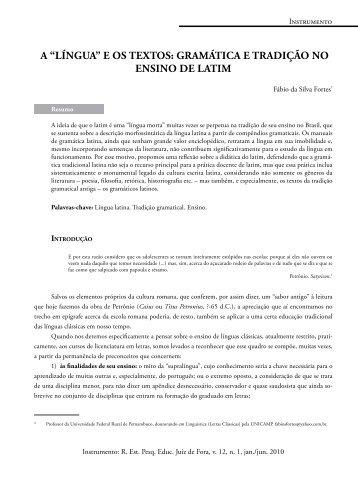 """""""línguA"""" e os textos - Faculdade de Letras - UFRJ"""