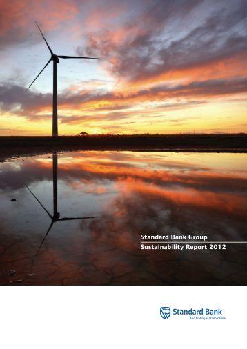 136301 Suatainability 2013.indd - Standard Bank Sustainability