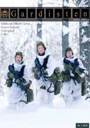 TollereTekst: Gardist Breivik - Hans Majestet Kongens Garde