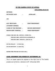 This is an appeal against the judgment of the High Court of The ...