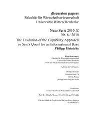 Philipp Heinicke - Universität Witten/Herdecke