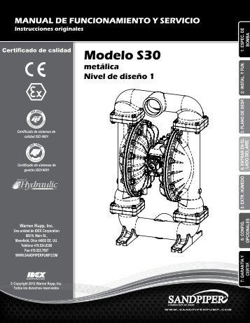 Modelo S30 metálica Nivel de diseño 1