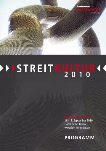 PROGRAMM - BM Kongress 2010