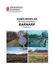 Handlingsplan för Barnarp - Jönköpings kommun