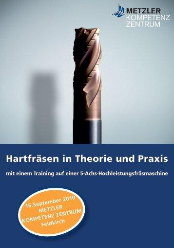 Hartfräsen in Theorie und Praxis - TECHSOFT