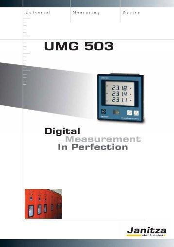 UMG 503 - Westek Electronics