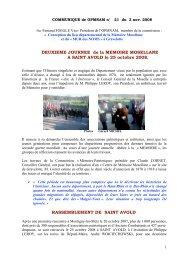 Saint-Avold 2008 - Malgré-Nous