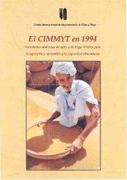 El CIMMYT en 1994 - Search CIMMYT repository