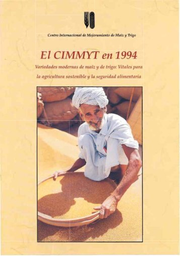El CIMMYT en 1994 - Search CIMMYT repository