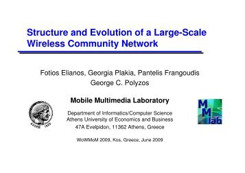 Structure and Evolution of a Large-Scale Wireless Community Network