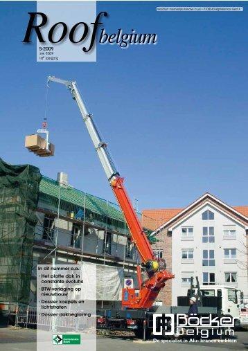 De specialist in Alu- kranen en liften - Bouwmagazines