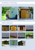 Gartenhäuser - UNINORM Technic AG - Seite 6