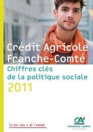 Chiffres-clé de la politique sociale 2011 - Crédit Agricole Franche ...