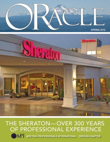 the sheraton—over 300 years of professional ... - LLM Publications