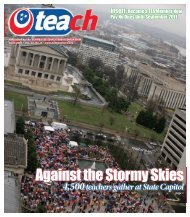 Against the Stormy Skies - Tennessee Education Association