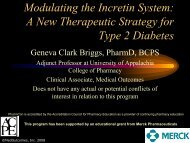 A New Therapeutic Strategy for Type 2 Diabetes - Free CE ...