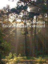 2011 California Environmental Scorecard CLCV