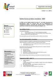 1.6322 Le DAEU - (CRIJ) Limousin