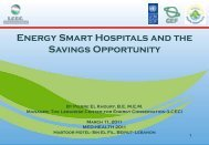 Energy Smart Hospitals and the Savings Opportunity