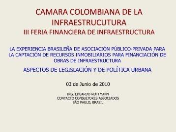 Consultor Internacional - Cámara Colombiana de la Infraestructura