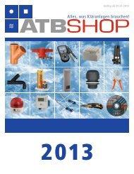 Gültig ab 01.01.2013 - ATBShop - ATB Umwelttechnologien GmbH