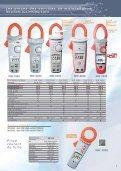 Des pinces multimètres pour courant AC/DC - Sefram - Page 7